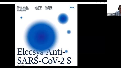 Thumbnail for entry Lanzamiento de nueva prueba de anticuerpos cuantitativa Elecsys® Anti-SARS-CoV-2 S
