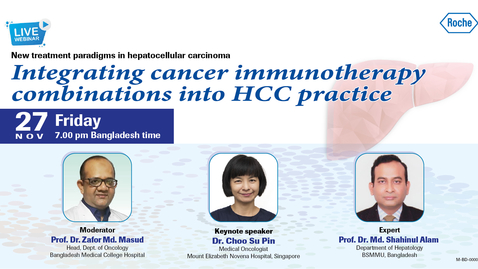 Thumbnail for entry Integrating cancer immunotherapy combinations into HCC practice