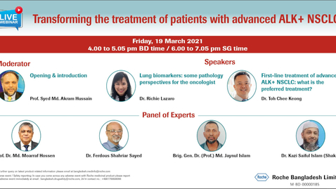 Thumbnail for entry Transforming the treatment of patients with advanced ALK+ NSCLC