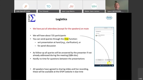 Thumbnail for entry EFSPI Regulatory Statistics Workshop: Webinar 2- 20201013