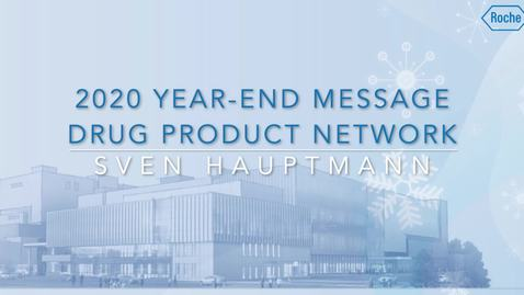 Thumbnail for entry PTG 2020 Year-End Message - English