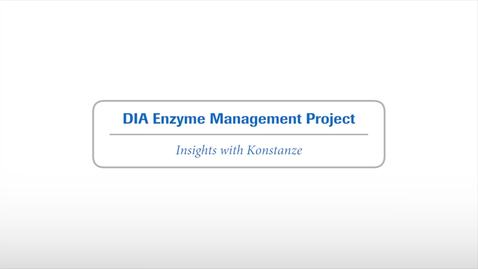 Thumbnail for entry #3 DIA Enzyme Project Update