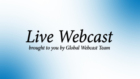 Thumbnail for entry PSS Webcast (Americas/EMEA) - 6 May 2021