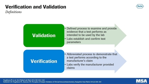 Thumbnail for entry Validation and Verification:  An Overview for IHC Assays