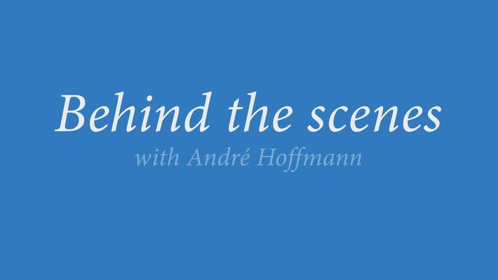 Behind the scenes with André Hoffmann