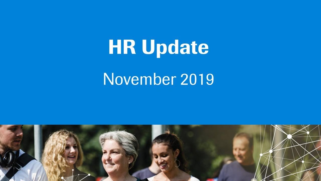 HR Update November