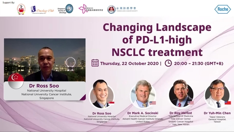 Thumbnail for entry Changing Landscape of PD-L1-high NSCLC treatments
