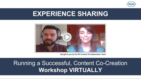Thumbnail for entry How to take your sprint virtual - PD Experience Sharing