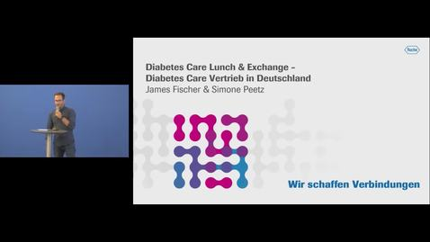 Thumbnail for entry Diabetes Care Lunch & Exchange - Diabetes Care Vertrieb in Deutschland_25.10.2019