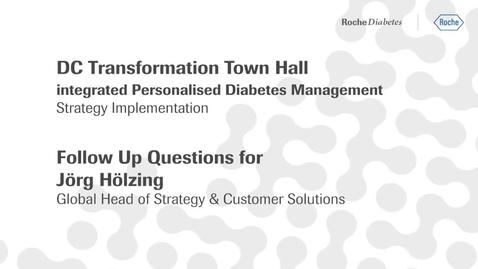 Thumbnail for entry Q&A - Jörg Hölzing Head of Strategy & Custumer Solutions