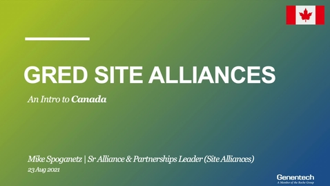 Thumbnail for entry gRED Site Strategy (Canada)_SAT (Aug 2021)