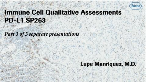Thumbnail for entry MSA SP263 Immune Cell Scoring Part 3 of 3