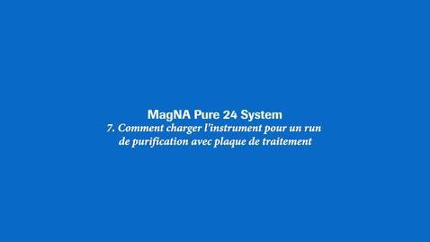 Thumbnail for entry Comment charger l'instrument pour un run de purification avec plaque de traitement