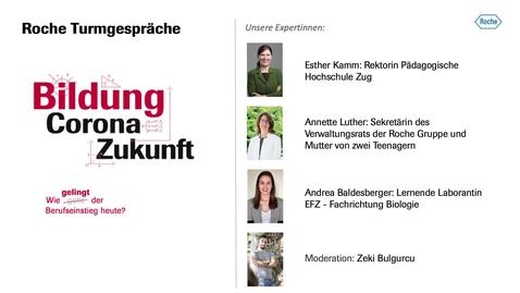 Thumbnail for entry Turmgespräche Berufsbildung 12.11.2020