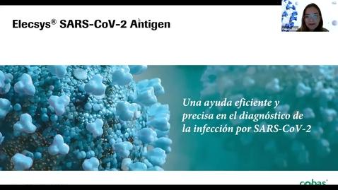 Thumbnail for entry Lanzamiento Elecsys SARS-CoV-2 Antigen Test