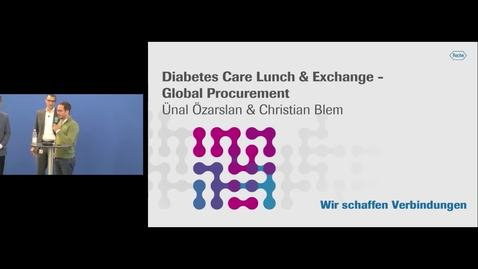 Thumbnail for entry Diabetes Care Lunch & Exchange - Global Procurement_19.09.2019