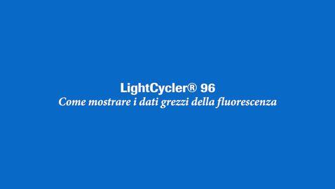 Thumbnail for entry Come mostrare i dati grezzi della fluorescenza