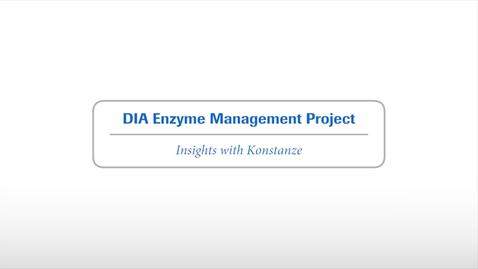 Thumbnail for entry #2 DIA Enzyme Project Update