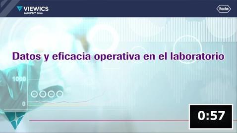 Thumbnail for entry Datos & Eficiencia Operativa en el Laboratorio