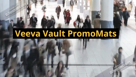 Thumbnail for entry Veeva Vault PromoMats now live in Australia and India