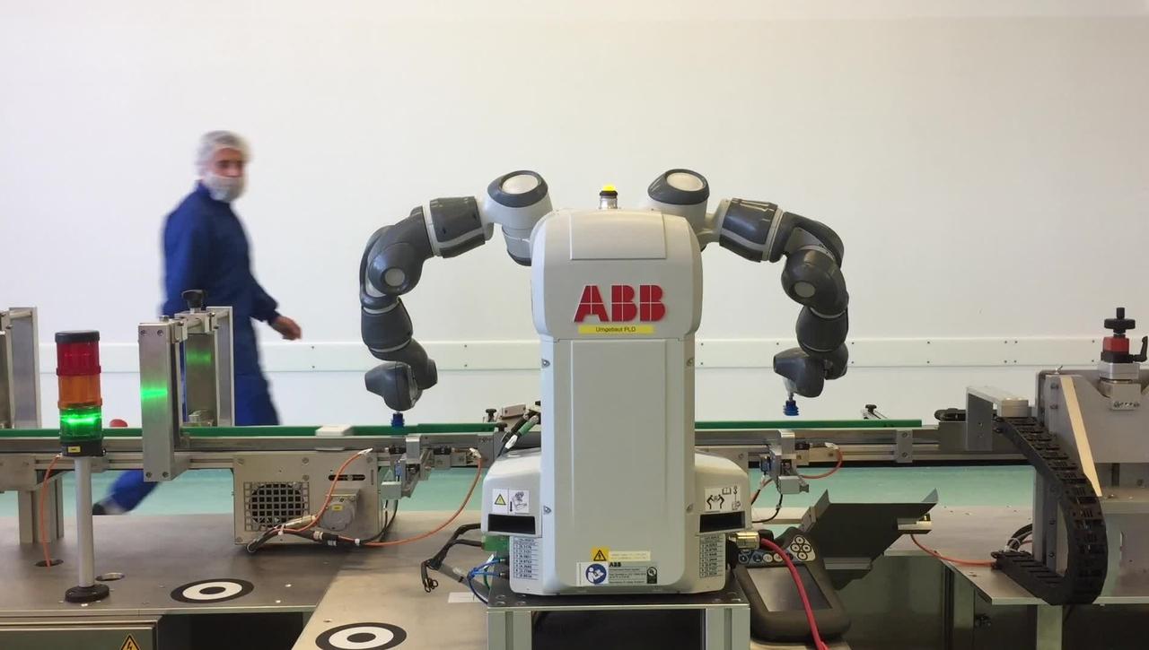 YuMi - Ein Roboter als Arbeitskollege