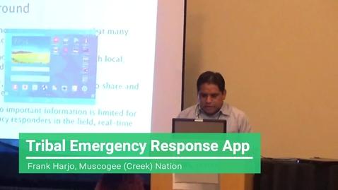 Thumbnail for entry Tribal Emergency Response App