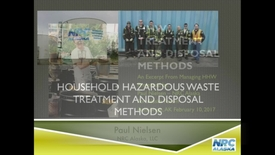 Thumbnail for entry Household Hazardous Waste Treatment and Disposal Methods by NRC Alaska