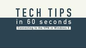 Thumbnail for entry Tech Tip - VPN Windows