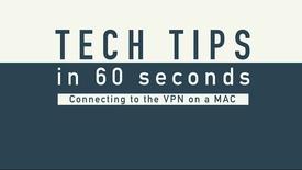 Thumbnail for entry Tech Tip - VPN MAC