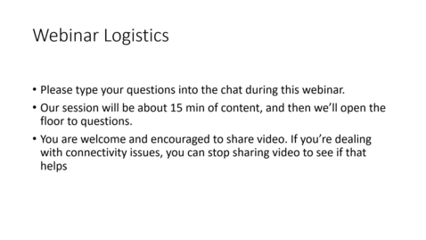 Thumbnail for entry Discussions - Webinar
