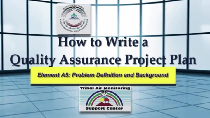 Thumbnail for channel Writing a Quality Assurance Project Plan (QAPP)