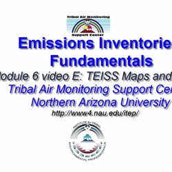 Thumbnail for channel ITEP Fundamentals-Emissions Inventories