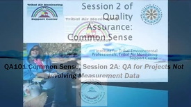 Thumbnail for entry QA101_ Non-Measurement Project's QA_QC (Webinar 2)(1)