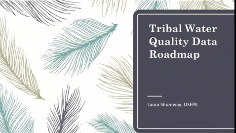 Thumbnail for entry Tribal Water Quality Roadmap