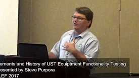 Thumbnail for entry USTs Elements and History of UST Equipment Functionality Testing