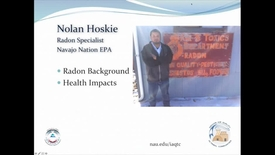 Thumbnail for entry Radon Characteristics and Health Effects