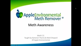 Thumbnail for entry NTAA Webinar on IAQ impacts from Methamphetamine Use, October 19, 2017