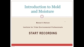 Thumbnail for entry Introduction to Mold and Moisture