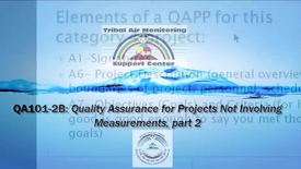 Thumbnail for entry QA101_ Non-Measurement Project's QA_QC (Webinar 2)