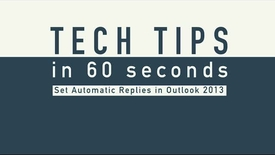 Thumbnail for entry Tech Tips - Auto Reply PC