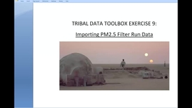 Thumbnail for entry Toolbox 2.1_ PM2.5 Filter Data-Importing Sampler D