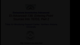 Thumbnail for entry 13B EI Advanced: Entering Point Sources Into TEISS