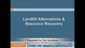 Thumbnail for entry Landfill Alternatives and Resource Recovery