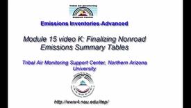 Thumbnail for entry EI Advanced 15 NonRoad video K_ Finalizing Non-Roa