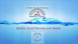 Thumbnail for entry QA101_ Excel Filtering and Charts