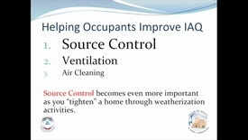 Thumbnail for entry Helping Occupants Improve IAQ