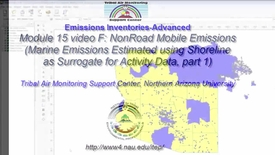 Thumbnail for entry EI Advanced 15F_ Non Road Emissions (Boats)