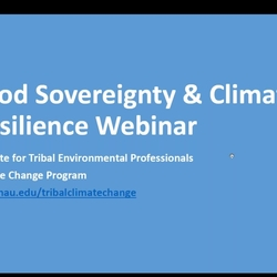 Thumbnail for channel Topics in Climate Change Adaptation Planning Webinar Series
