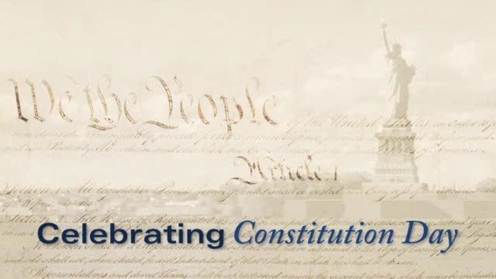 Celebrating Constitution Day