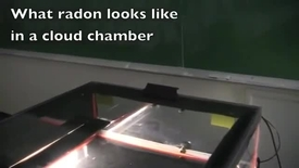 Thumbnail for entry What Radon Looks Like in a Cloud Chamber